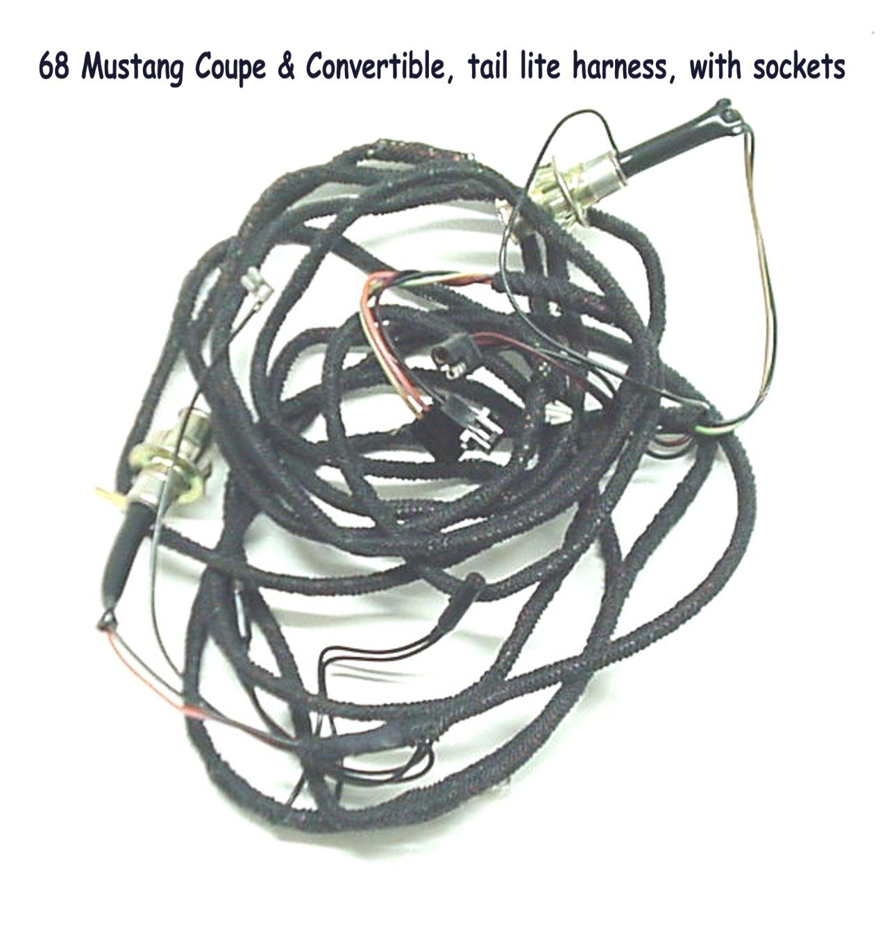 Engine Electrical Page 2 1968 Mustang Wire Harness Ea